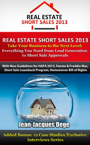We Specialize in Short Sales