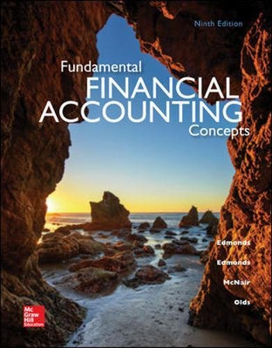 Fundamental Financial Accounting Concepts, 9th Edition
