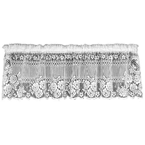 Heritage Lace Victorian Rose 60-Inch Wide by 16-Inch Drop