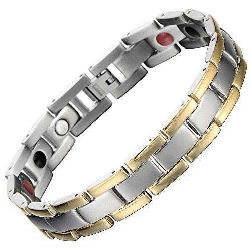 Stylish Titanium Magnetic Bracelet Germanium