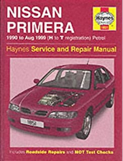 Nissan Primera (1990-99) Service and Repair Manual (Haynes Service and Repair