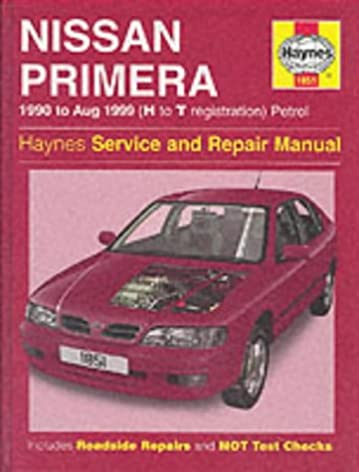 nissan primera petrol 90 aug 99 h to t haynes service and rh amazon com 1991 Infiniti G20 1996 Infiniti G20