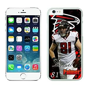 NFL Case Cover For Apple Iphone 6 Plus 5.5 Inch Atlanta Falcons Michael Palmer White Case Cover For Apple Iphone 6 Plus 5.5 Inch Cell Phone Case ONXTWKHB0187