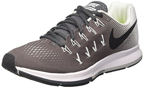 NIKE Women's Air Zoom Pegasus 33 Dark Grey / Black - White