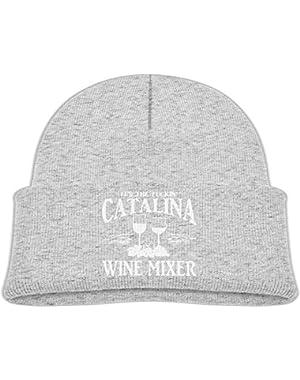 Fashion Fuckin' Catalina Wine Mixer Mesh Dancing Cap Printed Newborn Baby Winter Hat Beanie