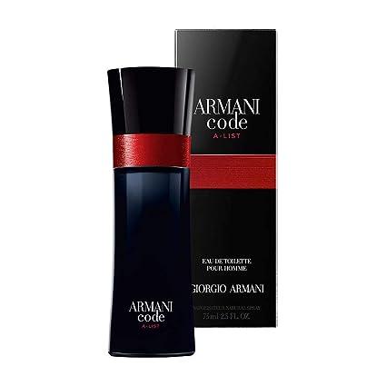 Giorgio Armani, Agua de colonia para hombres - 75 ml.