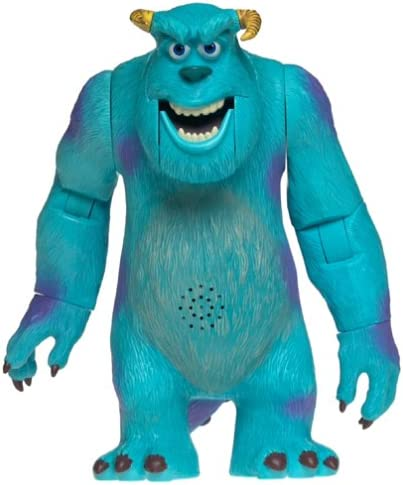 Amazon Com Disney Pixar Monsters Inc Super Scare Sulley Growls Says Phrases From Movie Toys Games