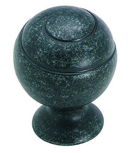 Amerock BP9338-WID Eclectic, Swirl'z Spiral Ball Knob 1-1/8-Inch, Wrought Iron (Wrought Iron Ball)