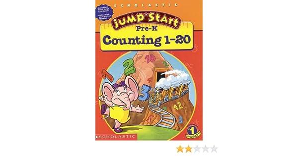 Amazon.com: Jumpstart Pre-k: Counting 1-20 Workbook (0011179184835 ...