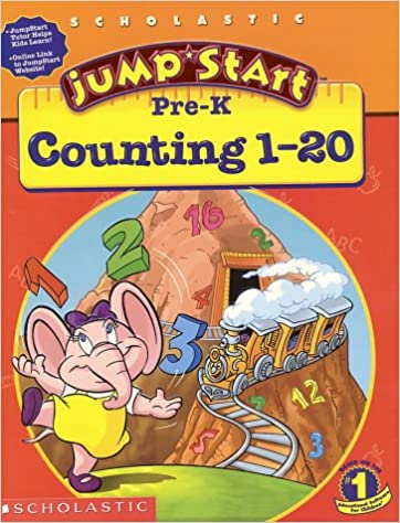 Amazon.com: Jumpstart Pre-k: Counting 1-20 Workbook (0011179184835 ...