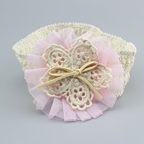 Cute Headband Accessories, 5Pcs Lovely Baby Girls Flower Headbands Photography Props by Wemi (Image #8)