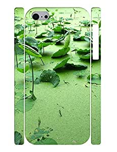 TYHde Fancy Dustproof Custom Gift Print Leaf Snap on Background for Iphone 4/4s Case ending