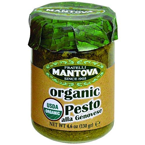 Mantova Organic Pesto, Genovese, 1.2 Pound (Pack of 4) (Organic Pesto)