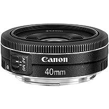 Canon EF 40mm/2.8 STM Standard Lens, Black