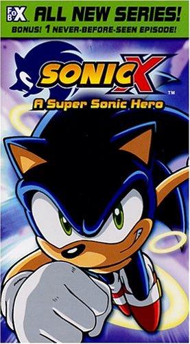 Sonic X 1: Super Sonic Hero [VHS]