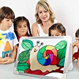 Magnetic Dry Erase Board for Kids, OUSL