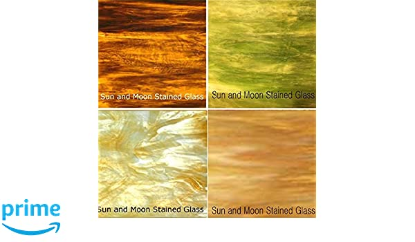 Autumn Flavor Wissmach Stained Glass Sheet Pack