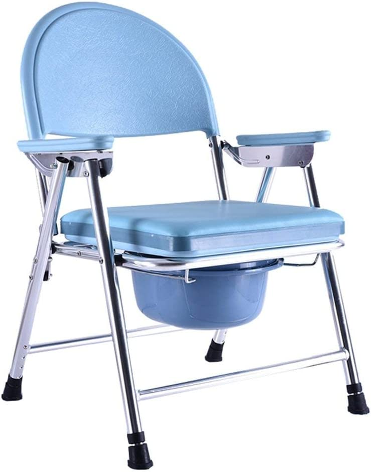 ホームシャワー 妊婦の便座モバイルオーバー障害者用トイレチェア滑り止め手すりバケットMax.200kgと高齢者のポータブル便器椅子堅牢性と耐久性浴室のシャワースツール