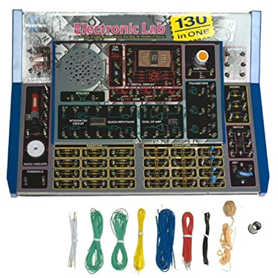Electronic Lab 130-in-one Project: Toys & Games