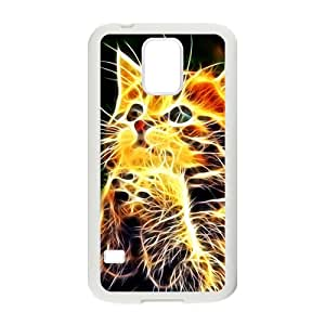 Creative Abstract Cat Hot Seller High Quality Case Cove For Samsung Galaxy S5