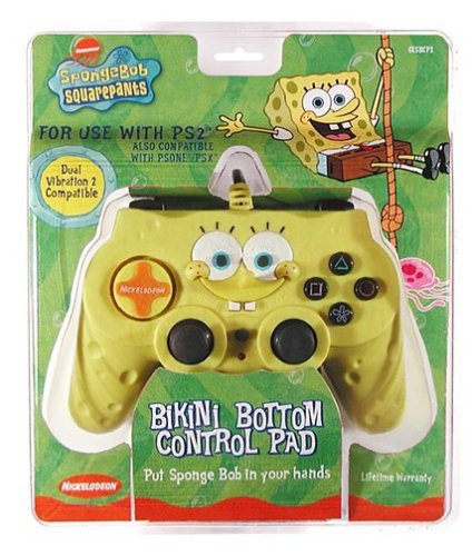 amazoncom ps2 spongebob squarepants control pad video games - Spongbob 2