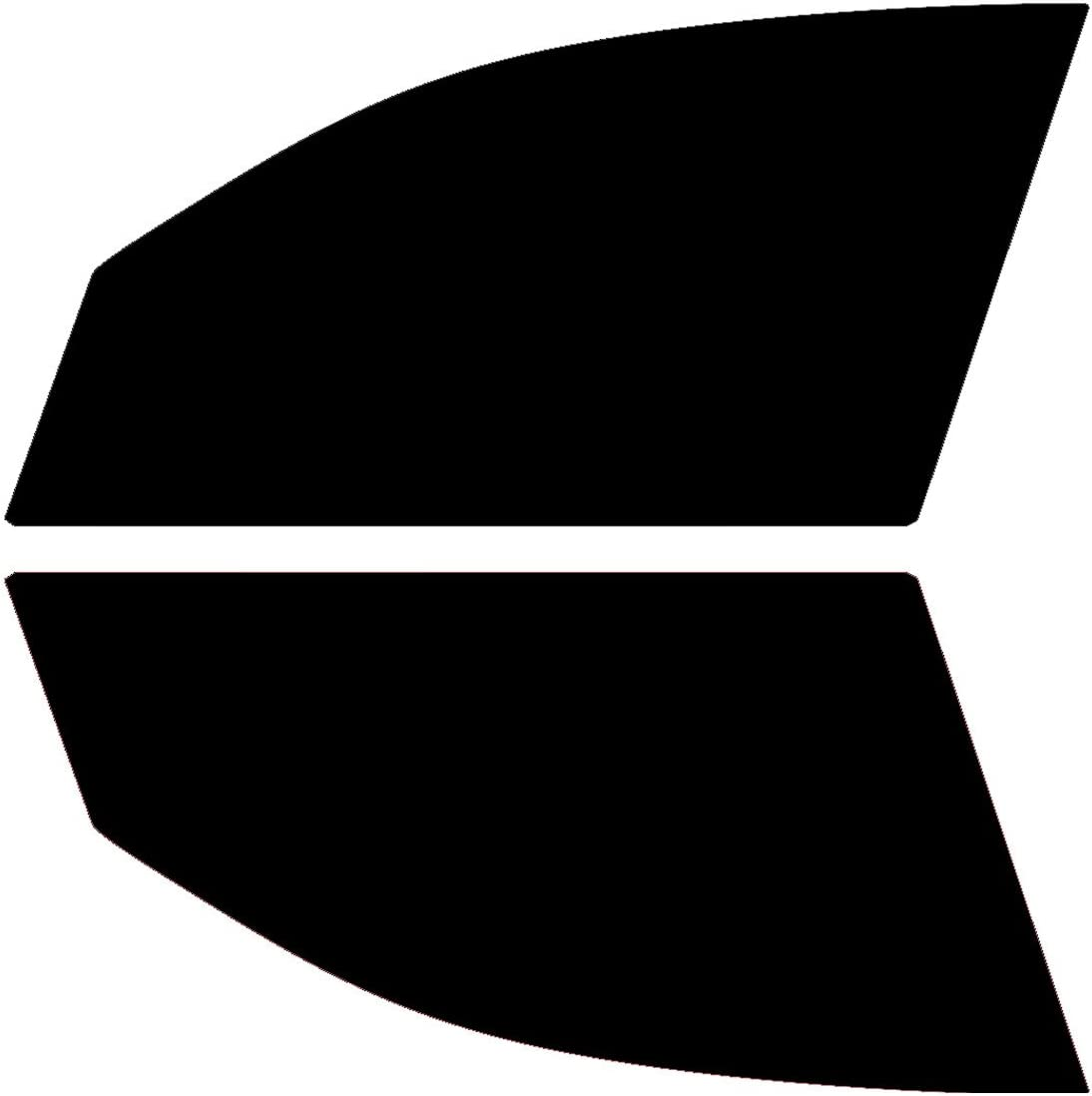 PSSC Pre Cut Front Car Window Films for BMW 1 Series 5 Door Hatchback 2004-2012 5/% Very Dark Limo Tint