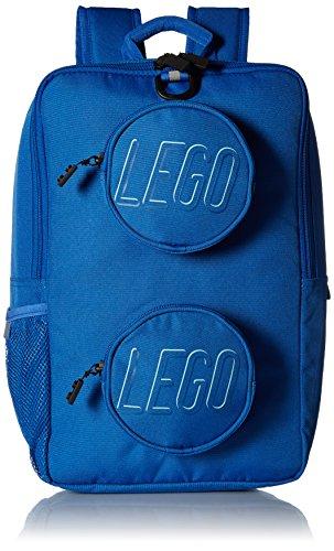 - LEGO Brick Backpack-Blue