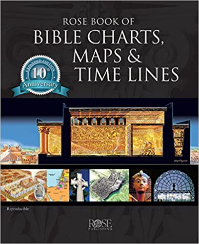 Amazon com: Rose Book of Bible Charts, Maps, and Time Lines
