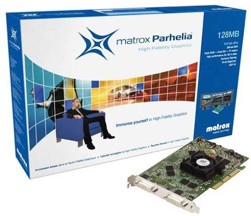 - MATROX PARHELIA 128MB 512GPU RETAIL VERSION