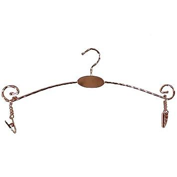 Pack of 5 ropa interior accesorio de hierro, de metal con los niños perchas,