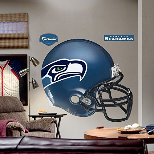 Fathead Seattle Seahawks Helmet Wall Decal