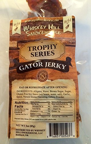 ALLIGATOR JERKY-3 oz