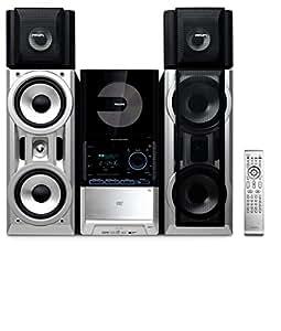 Philips FWD872 Home audio mini system 200W Negro, Plata - Microcadena (Home audio mini system, Negro, Plata, Monótono, Lógico completo, 1 deck(s), 200 W)