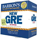 Barron's New GRE Flash Cards, 2nd Edition