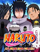 Naruto Coloring Book: Great Coloring Book For