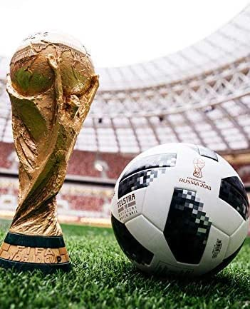 Copa del Mundo 2018 Trofeo and Smart Balón de Fútbol Póster ...
