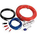 MTX ZN1K08 StreetWires 8 AWG Single Amplifier Installation Kit (Red)