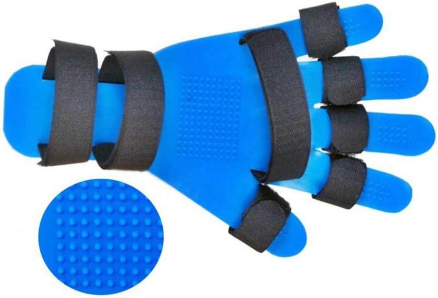 SHOWGG Placa de corrección de Dedos Ajustable ortopédica para muñeca de Dedo Placa separadora de Dedo se refiere a la Placa Fija Dedos Equipo de rehabilitación Adecuado para hemiplejia
