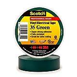 3M Super 35 Green Electrical Tape, 3/4'' X 66' (1 per pack)