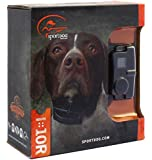 Bundle of 2 items - SportDog NoBark SBC 10R Rechargeable Waterproof Bark Control Collar with PetsTEK Dog Training Clicker and Dog Whistle Training Kit