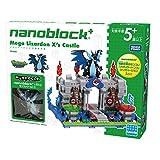 Kawada Takara Tomy Nanoblock Plus Pokemon Figure, Mega Charizard X's Castle