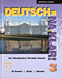 Deutsch, Na Klar! : An Introductory German Course, Di Donato, Robert and Clyde, Monica, 0070137064