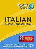 Learn Italian: Rosetta Stone Italian - 12 month subscription
