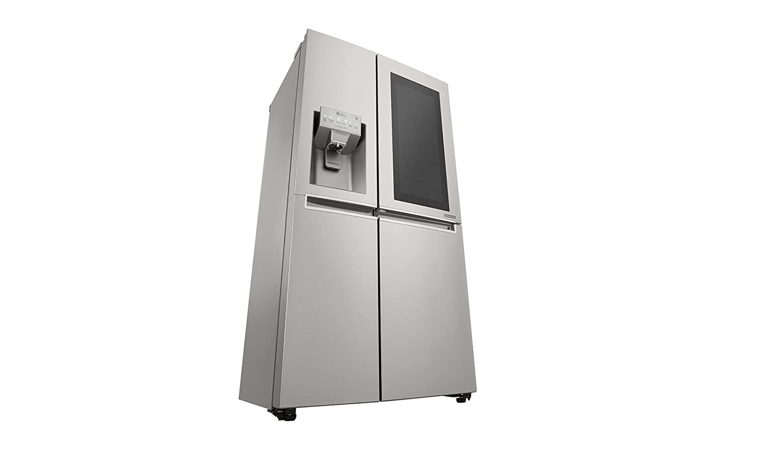 Side By Side Kühlschrank Test 2018 : Lg electronics instaview gsx neaz side by side a cm