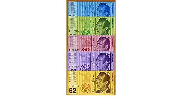 Set UNC /> Australia 1970 10;20;50;1;2 Hutt River Province