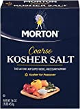 Morton Coarse Kosher Salt – For Everyday