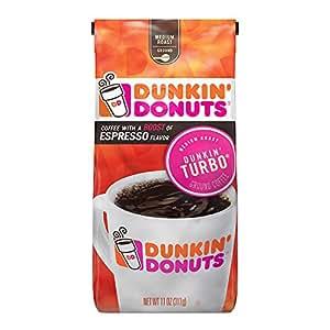 Amazon.com: Dunkin' Donuts Dunkin' Turbo Coffee, 11 Ounce: Prime Pantry