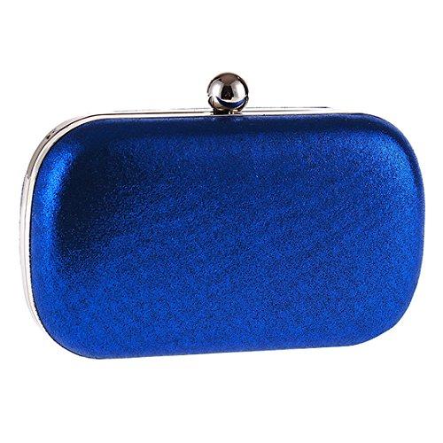 SSMK Evening Bag - Cartera de mano para mujer Azul