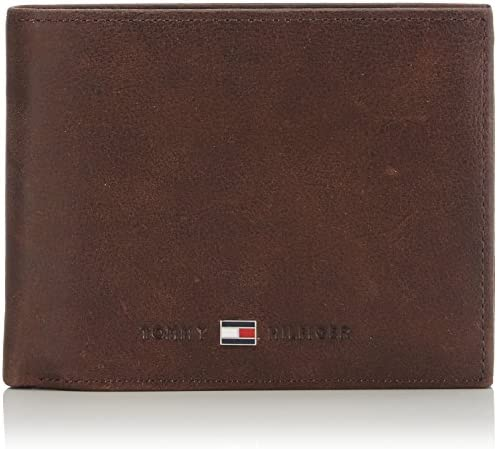Señor Sobretodo cansada  Tommy Hilfiger Herren JOHNSON CC FLAP AND COIN POCKET Geldbörsen, Braun  (Brown 041), 13x9.5x3 cm: Amazon.de: Schuhe & Handtaschen