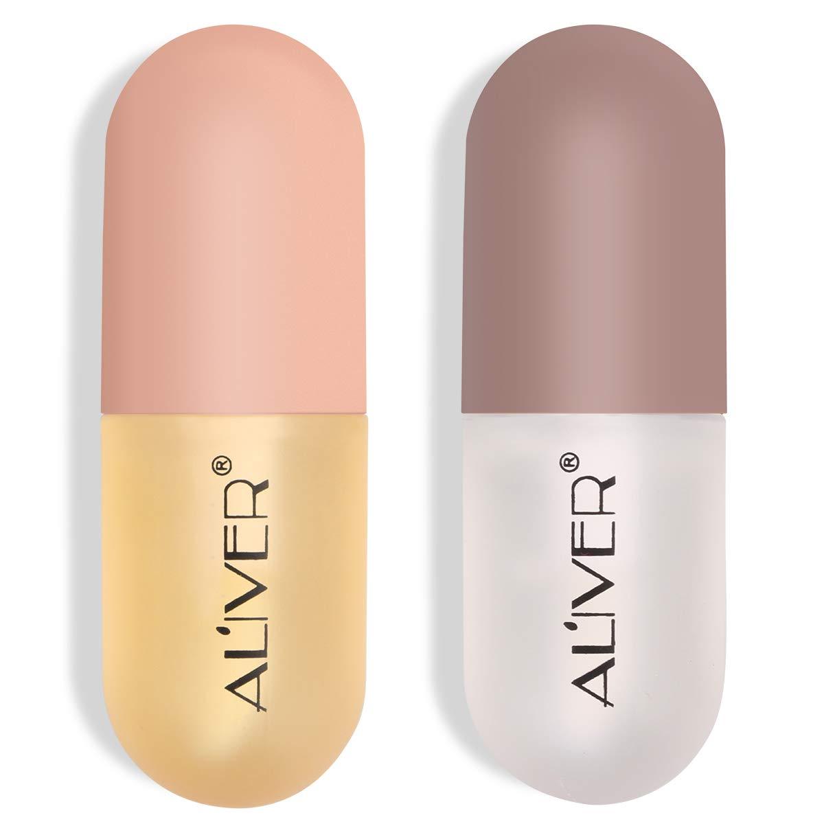 Lip Plumper Set,Lip Enhancer, Lip Plumping Balm,Moisturizing Clear Lip Gloss for Fuller Lips & Hydrated Beauty Lips